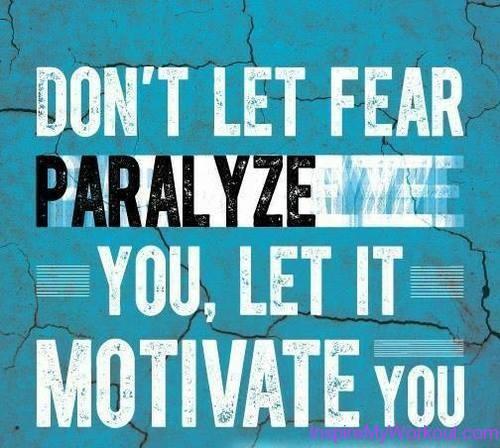 fear as motivation