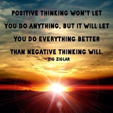 positive thinking zig ziglar