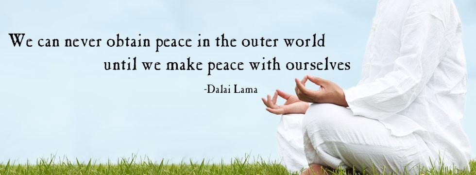 outer inner peace