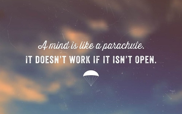 open minded parachute