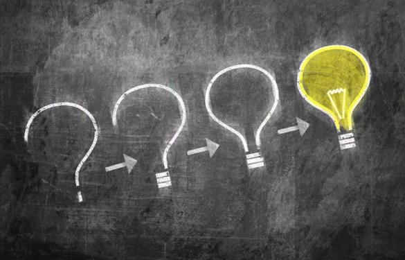questions light bulb